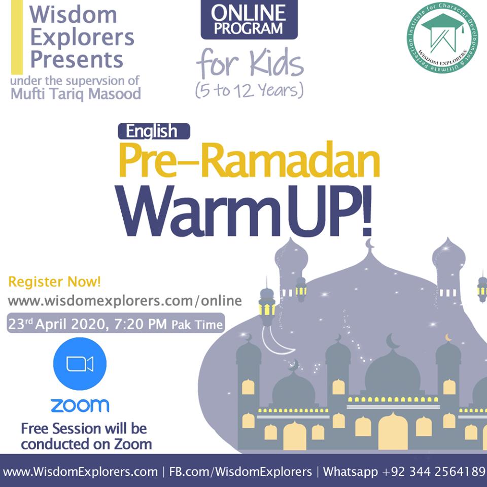 Pre Ramdan Warmp Up